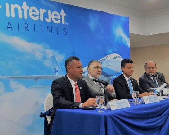 Aerolínea Mexicana anuncia inicio de operaciones en El Salvador.